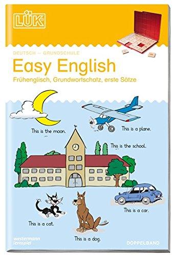 LÜK: Easy English Doppelband: Übungen in Frühenglisch, Grundwortschatz, erste Sätze