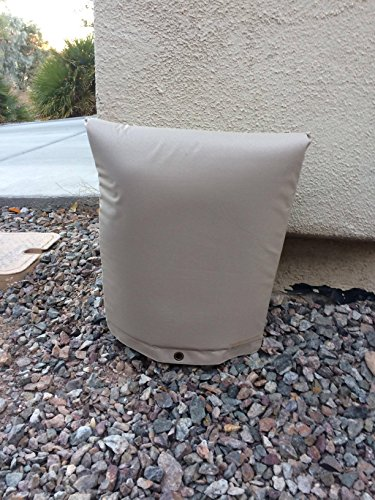PipeWarmers Industrial Grade Insulated Pouch for Backflow Freeze Protection. Waterproof PVC Coated Insulated Pouches for Outdoor Irrigation Systems, Backflow System Cover (Pvc Pipe 18)