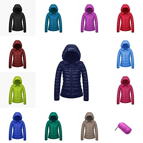 5ac9312acf7 CHERRY CHICK (A Jacket for 3 Season Women s Ultra-Light Down Jacket with  Hood