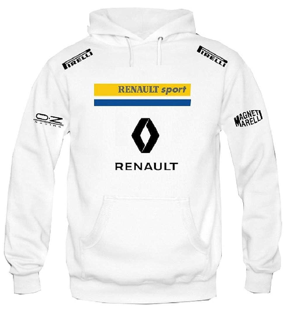 Sweat Shirt à Capuche Renault Sport Compaq Rally Racing Course de Rallye personnalisé Homme Unisexe SBU0107