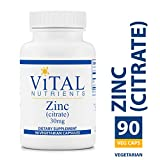 Cheap Vital Nutrients – Zinc (Citrate) 30 mg – Highly Absorbable Immune Support – 90 Capsules