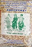 5 lb brown rice - 5 Pounds Three Ladies Brand Whole Grain Pure Jasmine Rice Red & Brown Blend (One Bag)