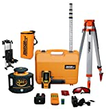Johnson Level & Tool 40-6559 Electronic Self-Leveling Horizontal & Vertical Rotary Laser System
