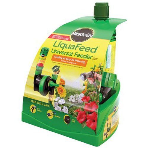 Miracle-Gro Liquafeed Universal Feeder Starter Kit - Scotts Starter Fertilizer