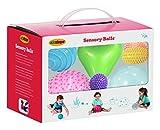 Edushape Sensory Ball Pack of 9–Ed 705199–Early Years Activity Games