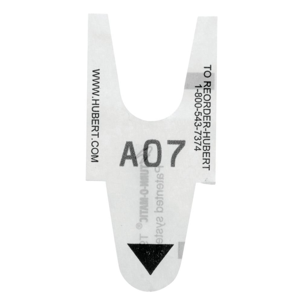 Sato 10007100-WH Ticket For Turn-O-Matic - 24 / CS