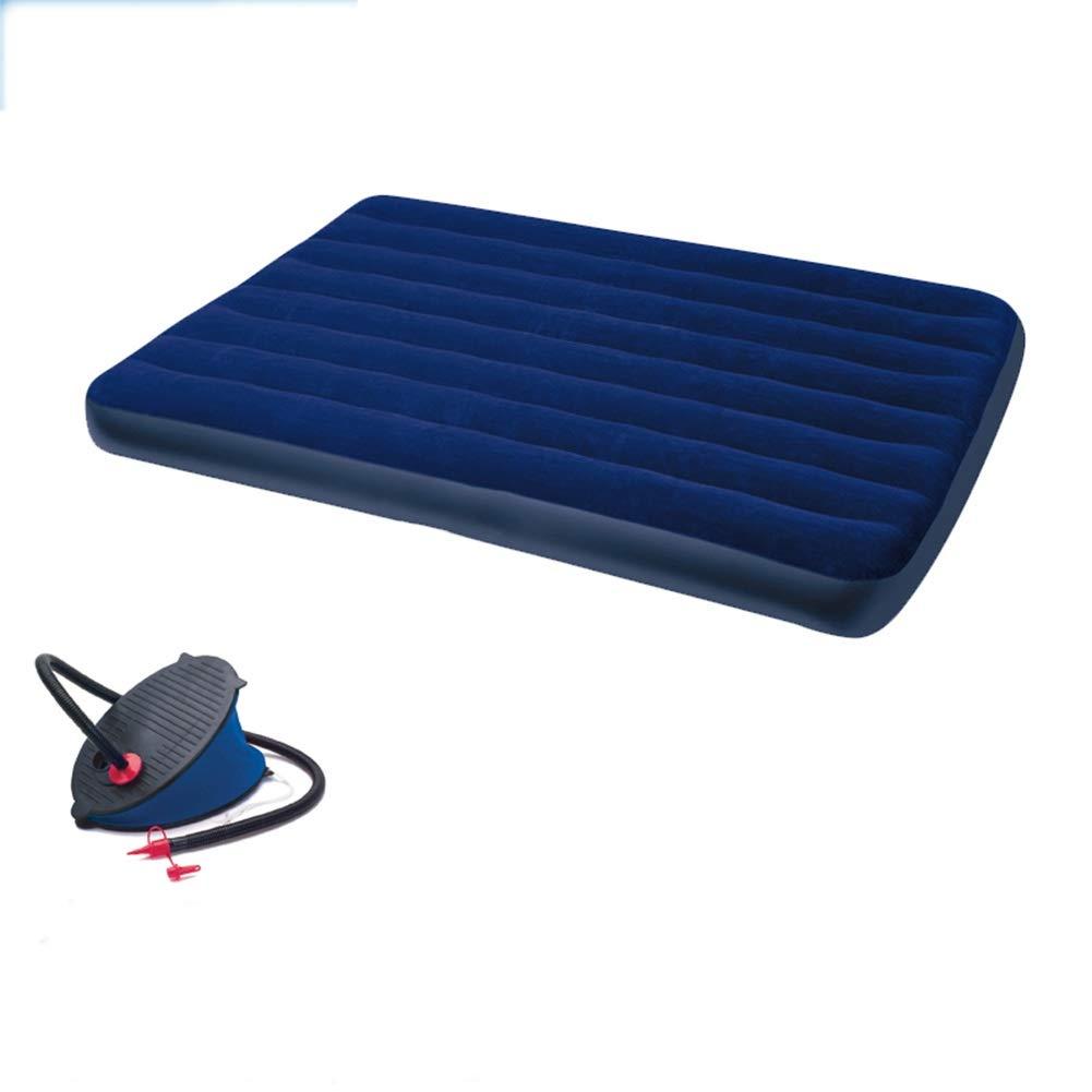 TINGTING エアーマットエアーベッド 単一の二重膨脹可能なベッドのエアマットレスのエアベッドの屋外のマットレスのエアベッド (色 : Single bed, サイズ さいず : 203*183*22) B07Q42VXML B 191*137*22 191*137*22 B