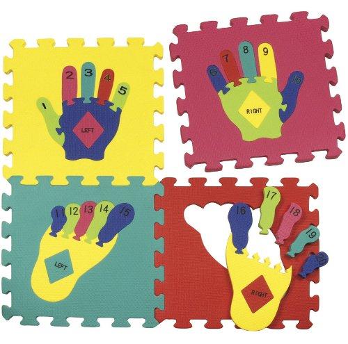 WonderFoam Hands Feet Puzzle Mat