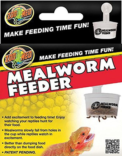 Zoo Med Laboratories SZMTA22 Hanging Mealworm Feeder