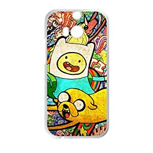 Cute Puppy Smile Face Cartoon White HTC M8 case by mcsharks