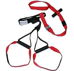 Variosling VS03 Sling Trainer Basic - Kit para entrenamiento en suspensión, color rojo y negro