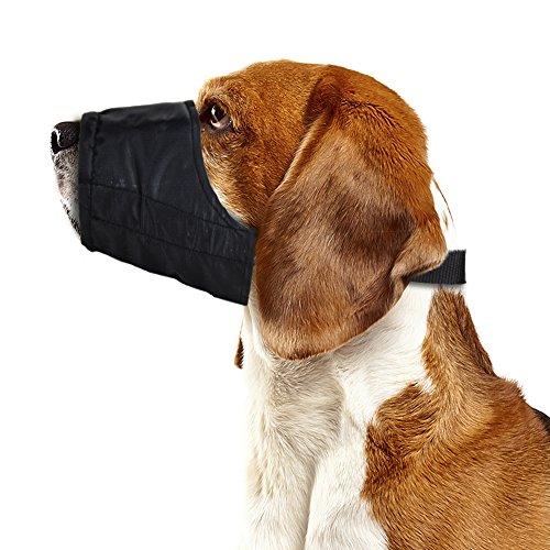 Weebo Pets Breathable Nylon Cloth Safety Muzzle (Small)