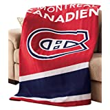 NHL by Sunbeam Fleece Heated Throw, Montreal Canadiens