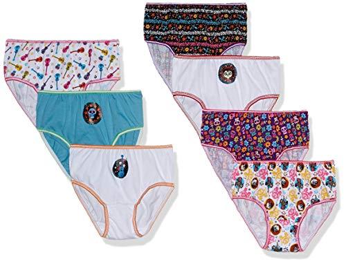 Disney Girls Coco 7-Pack Underwear Panties
