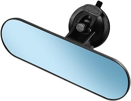 Kkmoon Auto Rückspiegel Universal Lkw Spiegel 360 Verstellbarer Innenspiegel Mit Saugnapf 220 65 Mm Für Auto Lkw Auto