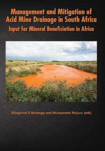 Management and Mitigation of Acid Mine Drainage in South Africa: Input for Mineral Beneficiation in Africa