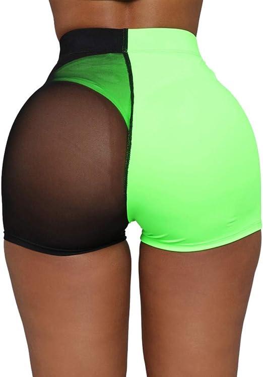 Women Hot Pants Summer Shorts Beach High Waist Sports Shorts Yoga Gym Jogging
