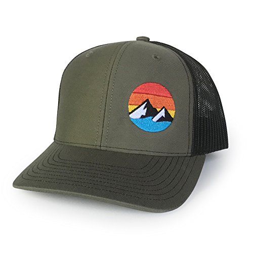 WUE Explore The Outdoors Trucker Hat - Green/Black