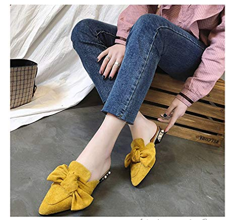 Chaussure YUCH Chaussure Slippers Slippers Yellow Yellow Chaussure Chaussure Yellow Femme Slippers YUCH Femme Femme YUCH YUCH AwqBzrA