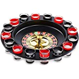 Paladone Shot Roulette Drinking Game with Shot Glasses