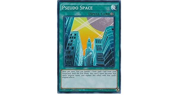Pseudo Space Common 1st Edition Yugioh Card SR03-EN027