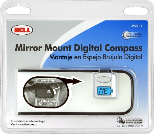 Bell Automotive 22 1 29001 8 Digital Compass And Mirror