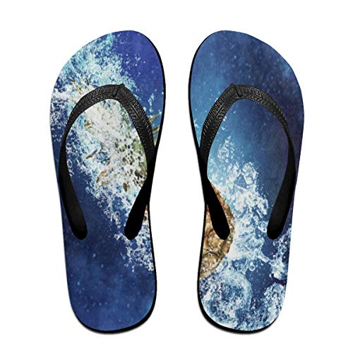 Ladninag Flip Flops Fruit Juicy Pineapple Women's Beach Slippers Thong Sandals for Men