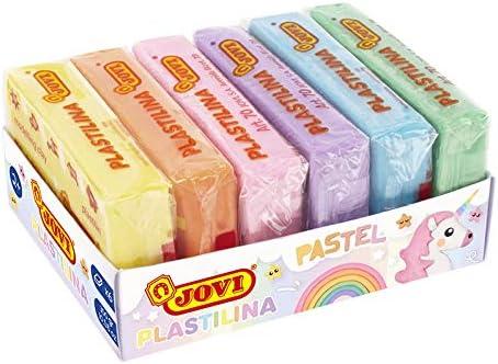 Jovi-Plastilina 6 Colores Paste Pastel, 500 gramos (70/6P): Amazon.es: Juguetes y juegos