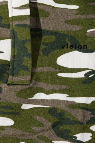 VISION ONE Ladies Zip Hoodie (khaki)