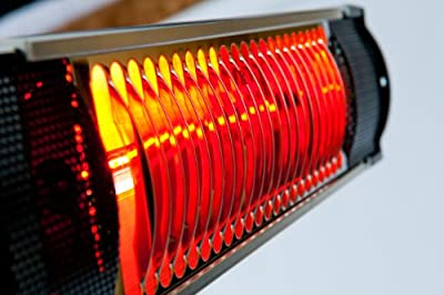 Muskoka Lifestyle Products MUS1509 Infrared Wall Mount Heater Indoor/outdoor Commercial/residential