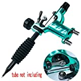 Tattoo Machine,New Star Tattoo Dragonfly Rotary Tattoo Machine Shader & Liner 7 Colors Assorted Tatoo Motor Gun Kits Supply For Artists(tube not including)(Green)