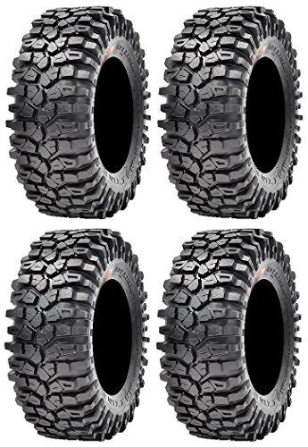 Full set of Maxxis Roxxzilla Radial (8ply) ATV Tires 30x10-14 (4)