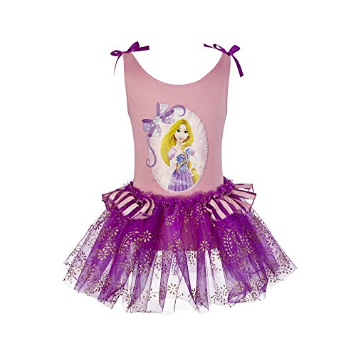 Disney Princess Ballet Dress (Disney Princess Rapunzel Ballet Tutu and Leotard Set)