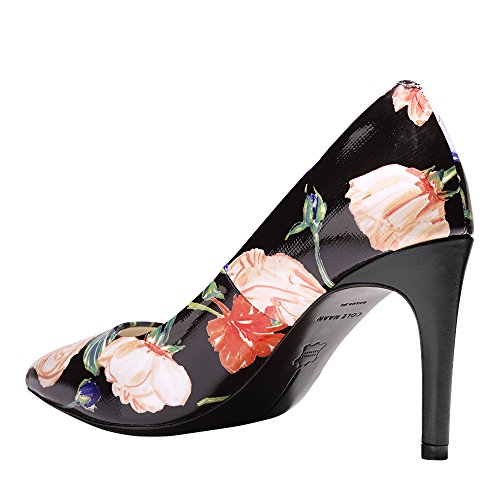 Cole Haan Mujeres Eliza Grand Pump 85mm Floral Negro Combo