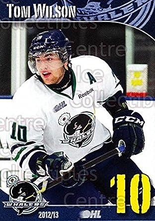 competitive price f14cd 95185 Amazon.com: (CI) Tom Wilson Hockey Card 2012-13 Plymouth ...