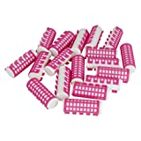 heated curler for hair - Evelots 18 Heated Hair Curlers Simple Effective Advanced Hold Pink-23mm Diameter (23MM)