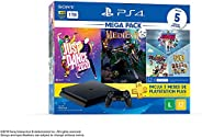 Console PlayStation 4 1TB Bundle 11 - Just Dance 2020, Medievil, Knowledge is Power +Frantics + That's You