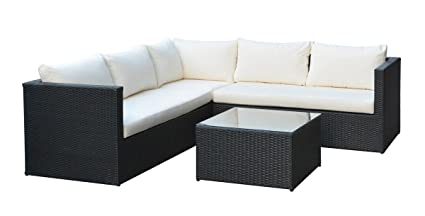 Amazon.com: Mano Patio 4271434-01 Lugo Outdoor Wicker Rattan ...