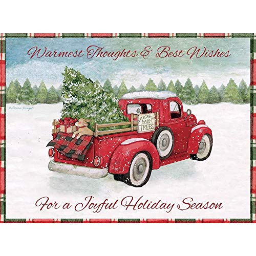 Santa's Truck Pop-Up Christmas Cards, by Lang Companies