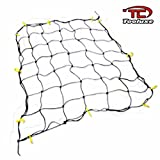 web cargo netting - 6` X 8` Foot Nylon Bungee Cord Pickup Truck Bed Cargo Hold Net Netting Top Load