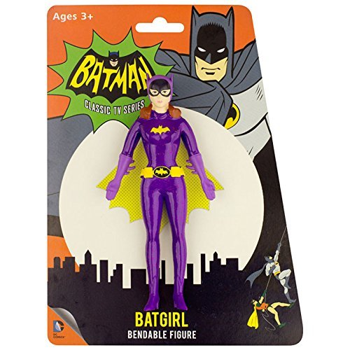 NJ Croce Yvonne Craig As Batgirl Action Figure, Multicolor, 8