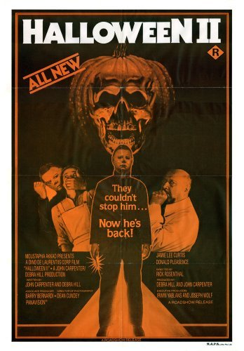 Halloween II  Movie Poster 24x36 by The Gore Store
