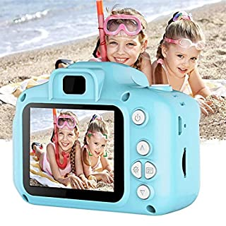 Lacegre Kids Camera Gift Mini Digital Camera 2 Inch Screen 1280x720p Video Recorder Educational Toys for 4-12 Years Old Boys and Girls,32GB TF Card (Not Included) Digital Cameras