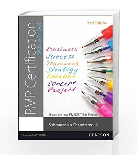Buy PMP Certification: Excel With Ease, 2e Book Online at Low Prices ...