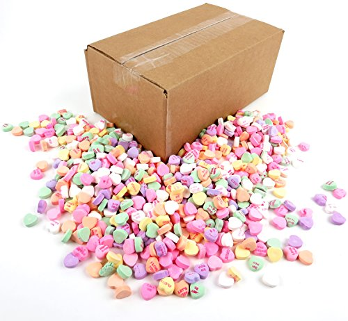 The Original Classic Flavor Necco Conversation Hearts, 3lb Bulk Bag Frustration Free Packaging (Valentines Day Sweets)