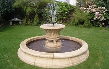 Stein Garten Wasser Brunnen, Jardineer Badewanne Füllfederhalter Und 7 Ft  7,6 Cm Doppel