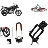 AutoStark Bike Front Shocker Lock with Helmet Lock- Bajaj Pulsar 150