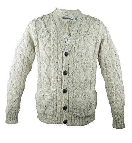 Irish Cable Knit Sweaters - 5