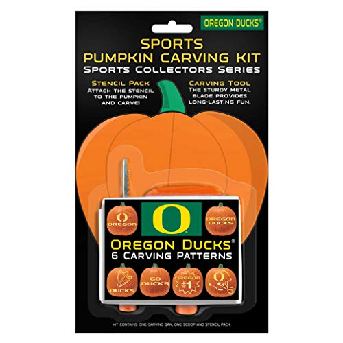 NCAA Oregon Ducks Pumpkin Carving Kit (Renewed)]()