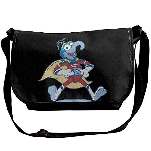 The Muppets Gonzo Superhero Costume Classic Shoulder Backpack Cross Body (Gonzo Costumes)